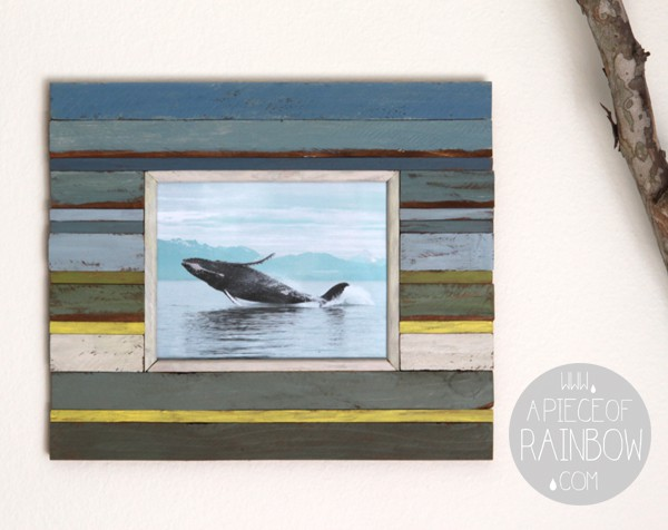 Make Wood Picture Frames Boat Wood A Piece Of Rainbow