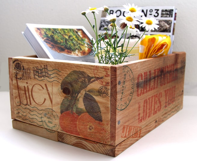 apieceofrainbow-pallet wood crates