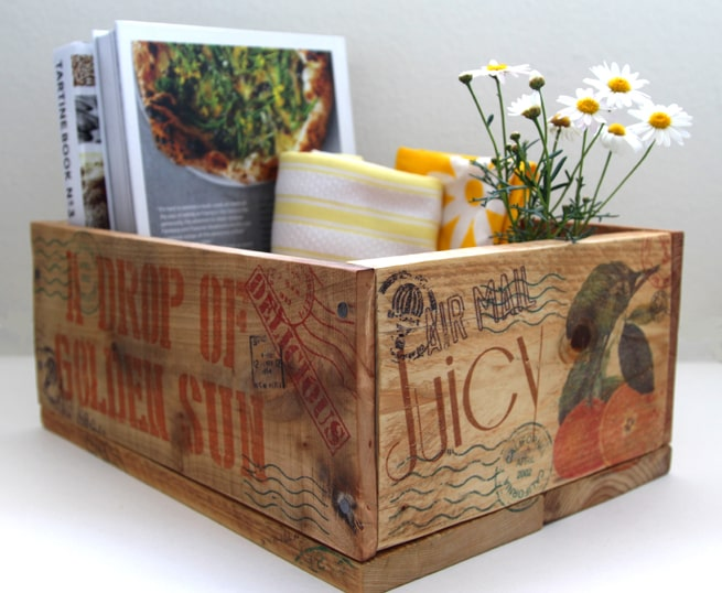 How to Make Pallet Wood Crate  Transfer Image To Wood