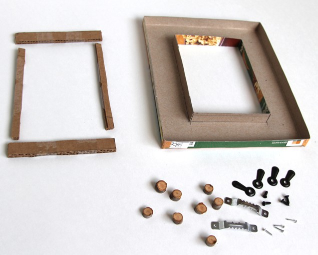 Make Concrete Picture Frame - A Piece Of Rainbow