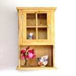 Make Wood Wall Cabinet   A Piece Of Rainbow