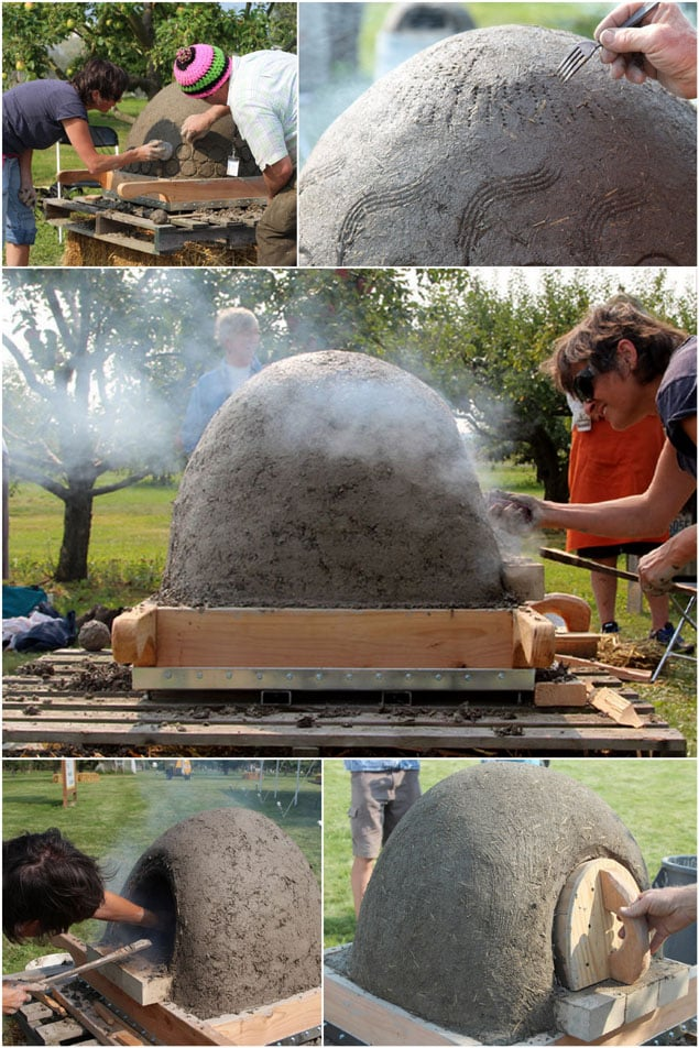 Super detailed tutorial on building a cob / earth oven from scratch using simple and recycled materials! Taught by a world renowned teacher plus a free info and picture packed ebook! - A Piece of Rainbow