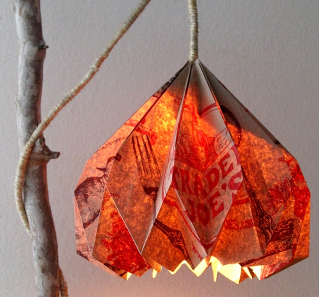 Make Origami Lampshade | A Piece Of Rainbow