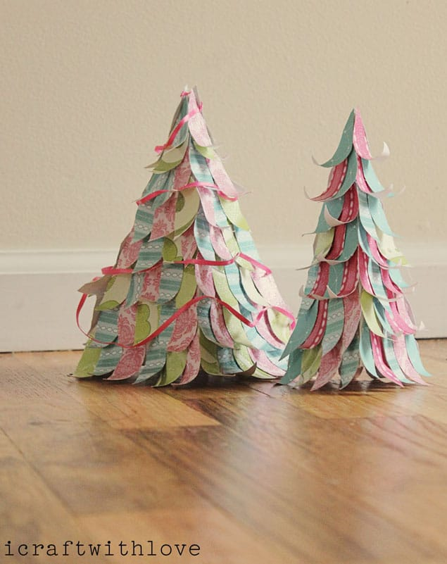 Paper Christmas trees 018 copy