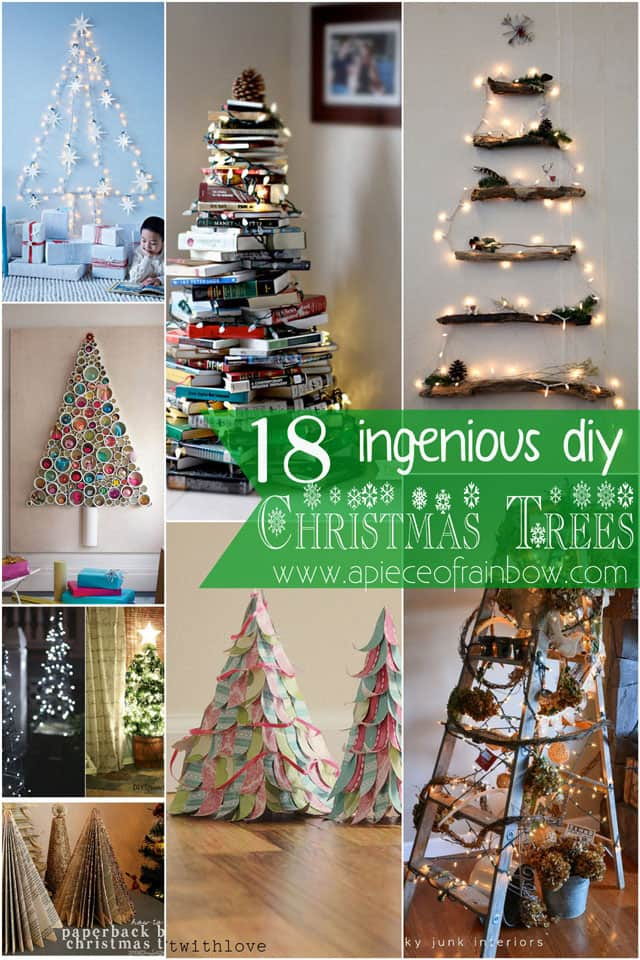 christmas trees apieceofrainbow 2 - 100+ Favorite Christmas Decorating Ideas For Every Room in Your Home : Part 2
