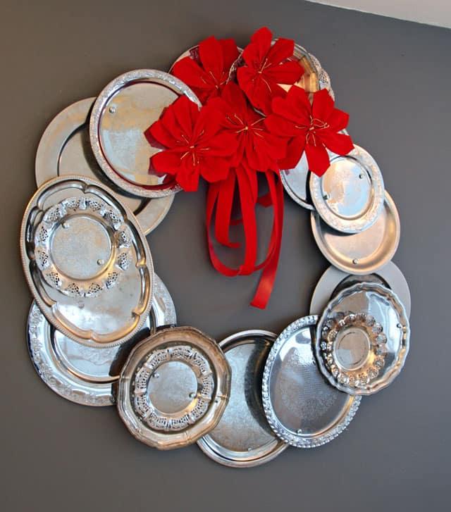 repurposed wreaths 13 - 15 Stunning Repurposed Wreaths