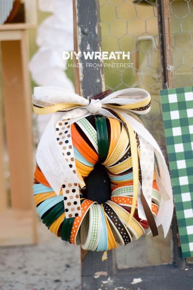 repurposed wreaths 3b - 15 Stunning Repurposed Wreaths