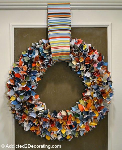repurposed wreaths 5 - 15 Stunning Repurposed Wreaths