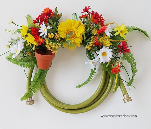 repurposed wreaths 6 - 15 Stunning Repurposed Wreaths