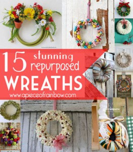 Make wreaths - apieceofrainbow.com