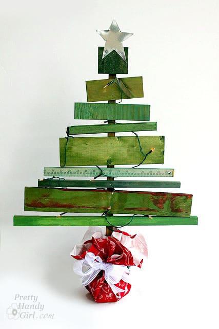 Amazing DIY Alternative Christmas Trees | A Piece Of Rainbow