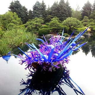 Chihuly glass art at Denver Botanical Garden | A Piece Of Rainbow