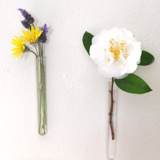 Easy Hanging Wall Vases | a piece of rainbow