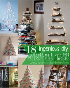 Amazing Christmas tree DIY Ideas -