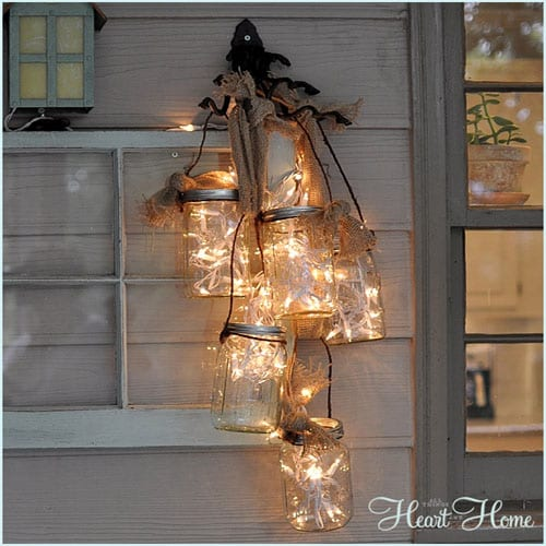 18 creative ideas to reuse glass | apieceofrainbow.com