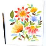 watercolor-flowers-apieceofrainbow