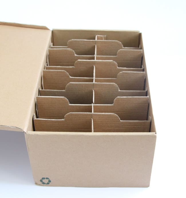 Make a seed box from upcycled shoe boxes a piece of rainbow for What can i make with boxes
