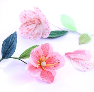 Make Paper Flower Poppies and Stamens   A Piece Of Rainbow Blog