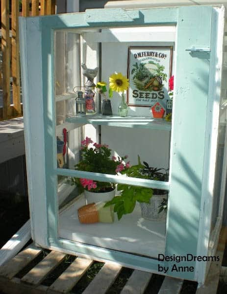small garden DIY Greenhouse