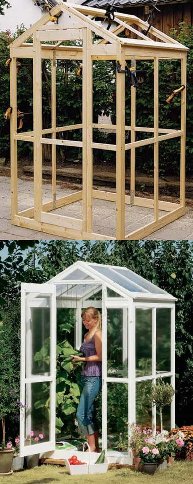 42 Best DIY Greenhouses ( with Great Tutorials and Plans! ) - A