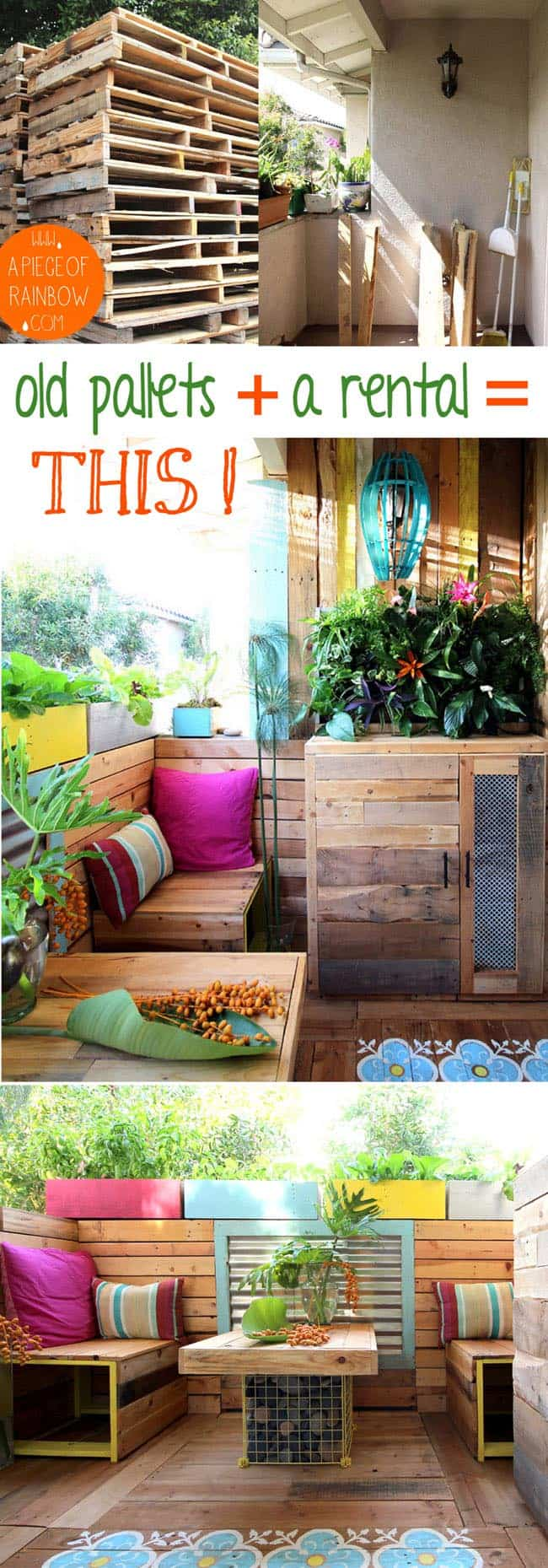 Build a stunning tropical outdoor room with