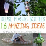 16 ingenious ways to reuse plastic bottles to make amazing useful things for our home and garden! You may never look at plastic bottles the same way again   A piece of Rainbow