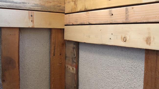 Diy Stenciled Pallet Wood Floor A Piece Of Rainbow