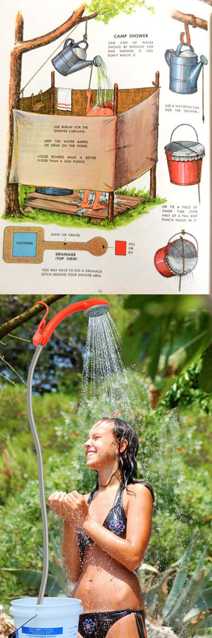 Great Ideas From Outdoor Camping Shower