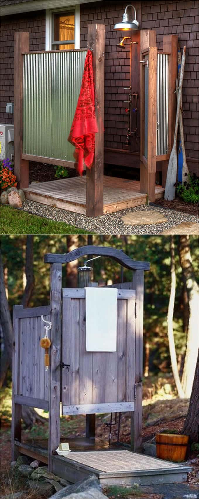 Outside Showers Ideas