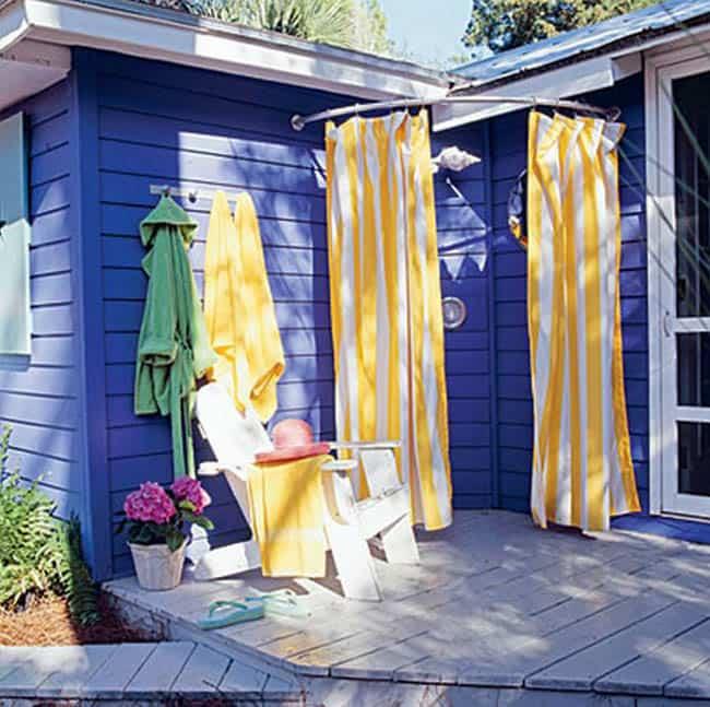Diy Outdoor Bathroom