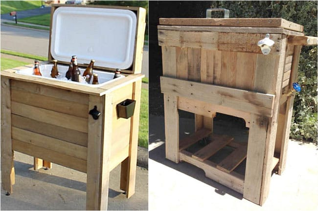 30 DIY Outdoor Pallet Projects A Piece Of Rainbow