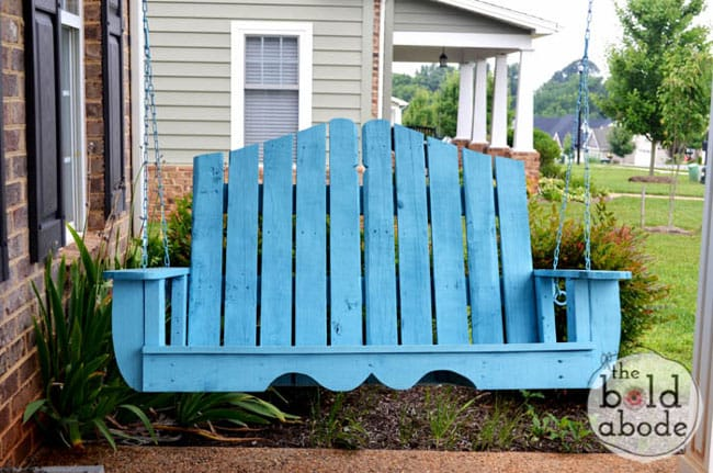 20 Great DIY Outdoor Pallet Projects