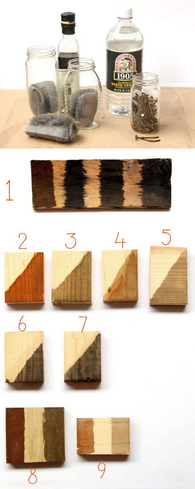 Make Wood Stain 7 Ways A Piece Of Rainbow