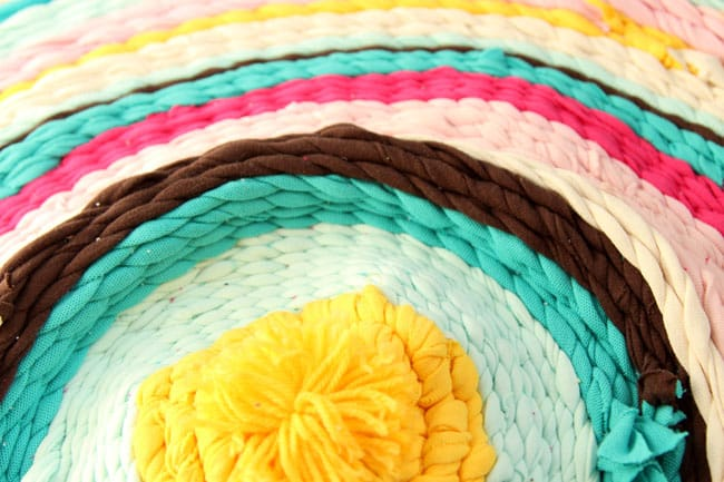 Make Rag Rug From Old T Shirts A Piece Of Rainbow