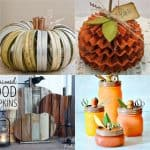 20+ amazing pumpkin decorations to create this fall! Easy and fun DIY re-purposed pumpkins perfect for Thanksgiving and Halloween decorations! - A Piece of Rainbow