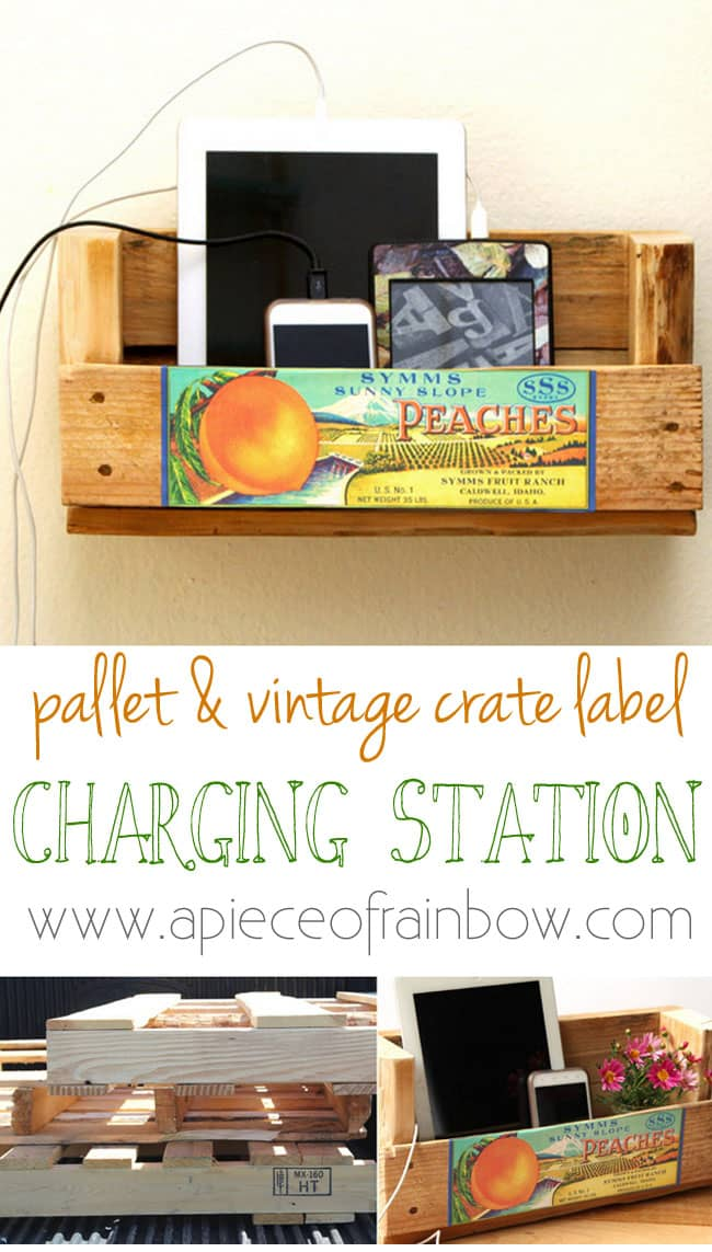 Tangled Make A Pallet Charging Station A Piece Of Rainbow