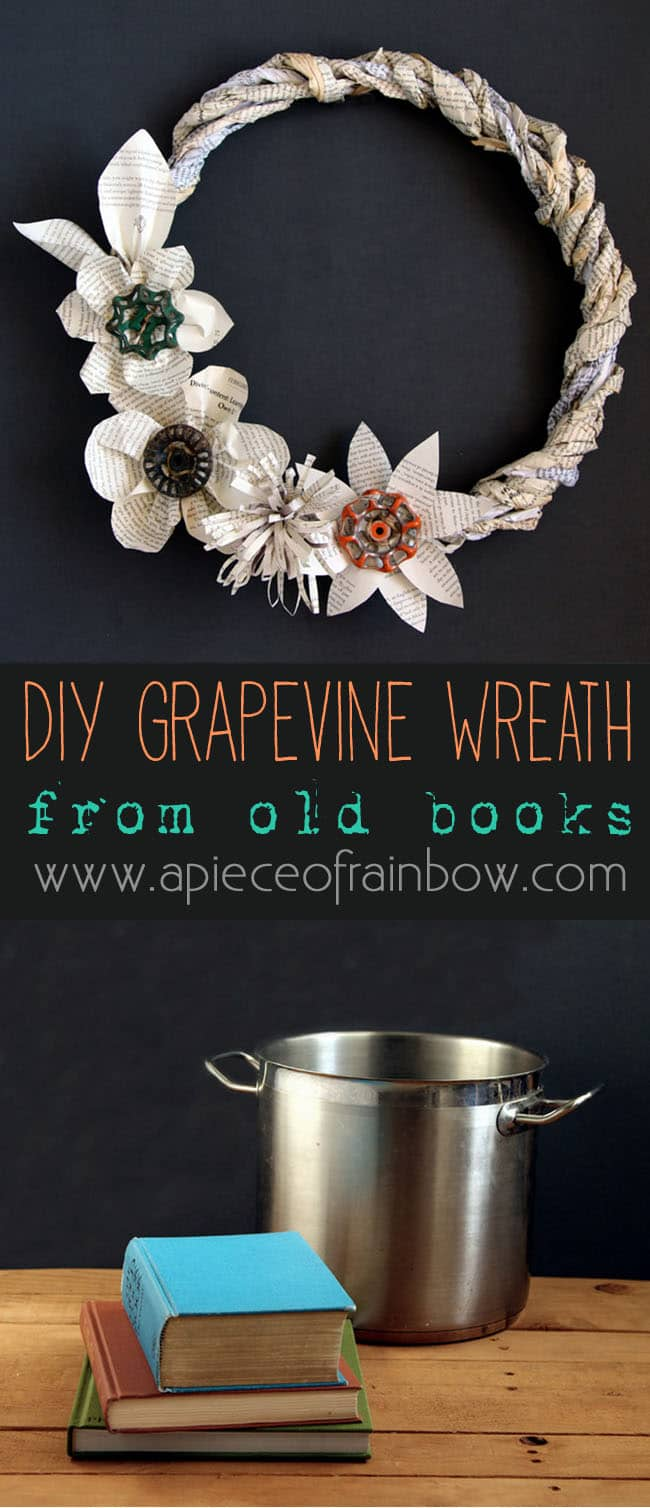 book-page-grapevine-wreath-apieceofrainbow