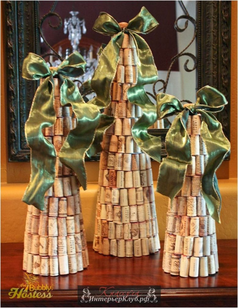 Wine Cork DIY Christmas Tree Ideas