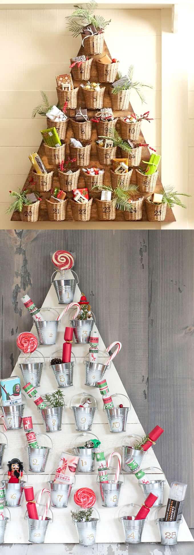 diy christmas tree ideas apieceofrainbow 11 - 48 Amazing Alternative Christmas Tree Ideas