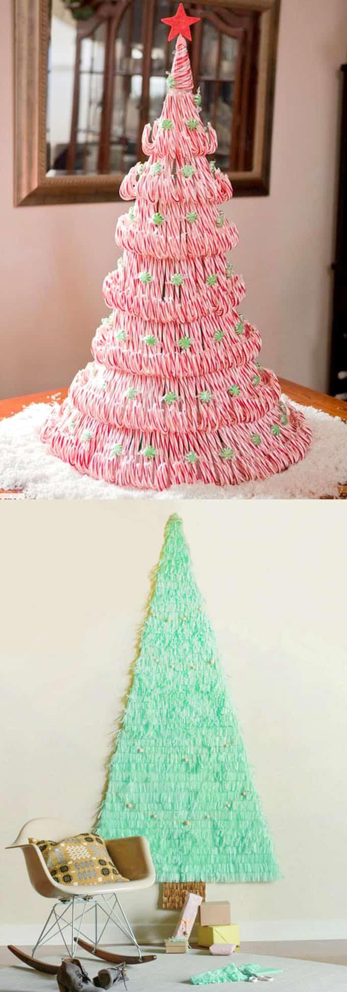 diy christmas tree ideas apieceofrainbow 12 - 48 Amazing Alternative Christmas Tree Ideas