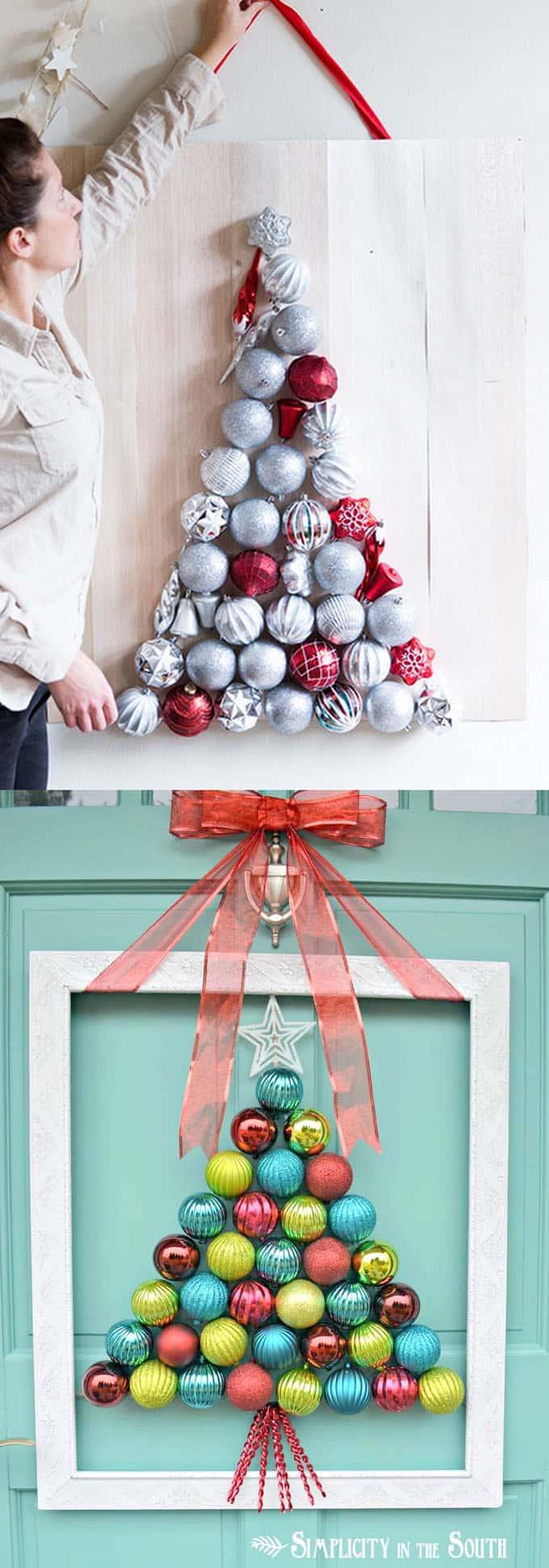 diy christmas tree ideas apieceofrainbow 3 - 48 Amazing Alternative Christmas Tree Ideas