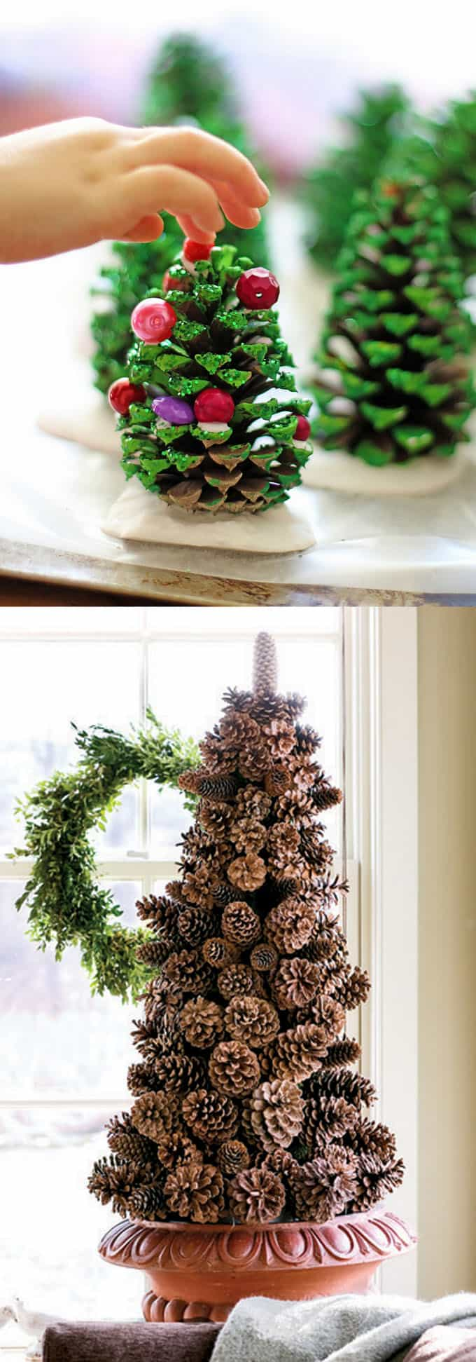 Pine Cone Christmas Ornaments To Make.48 Amazing Christmas Tree Ideas A Piece Of Rainbow