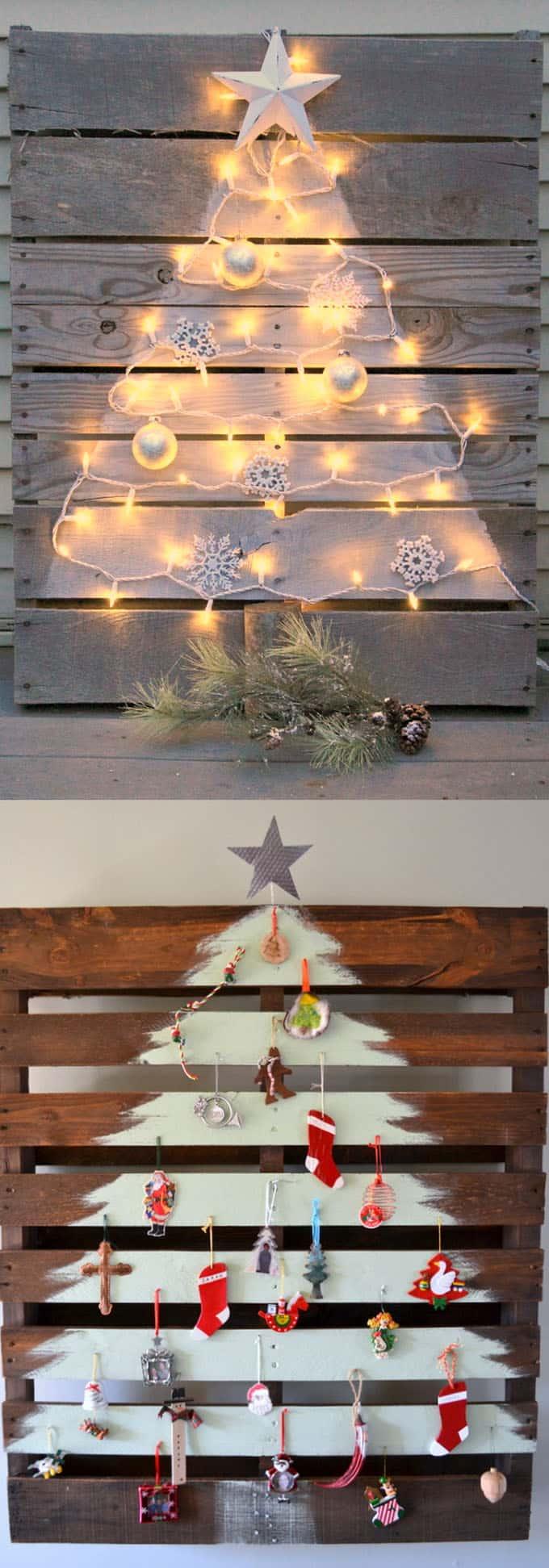 diy christmas tree ideas apieceofrainbow 6 - 48 Amazing Alternative Christmas Tree Ideas