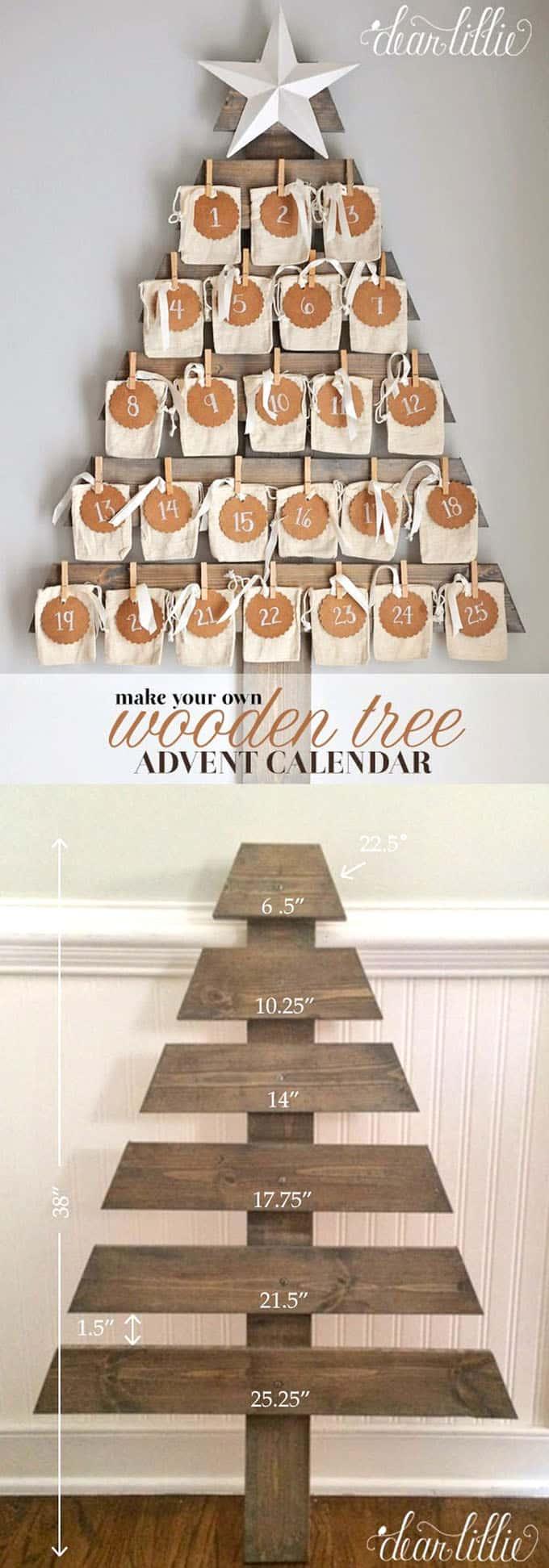 diy christmas tree ideas apieceofrainbow 8 - 48 Amazing Alternative Christmas Tree Ideas