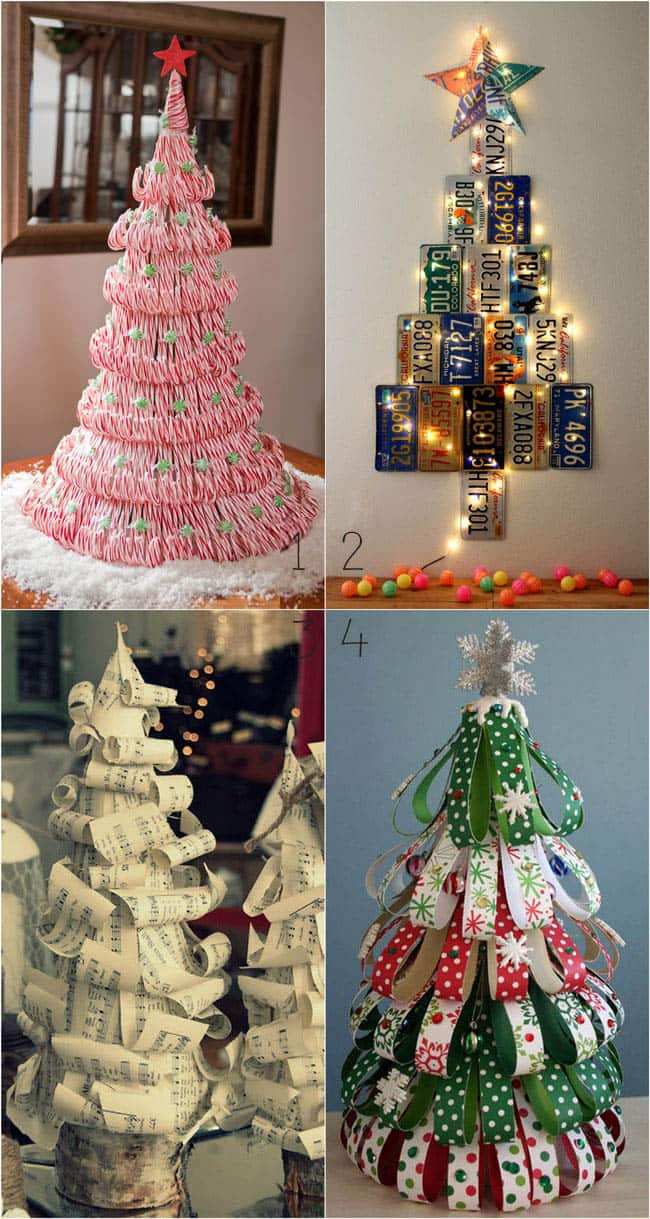 Christmas Tree Ideas Diy : Amazing christmas tree ideas a piece of rainbow