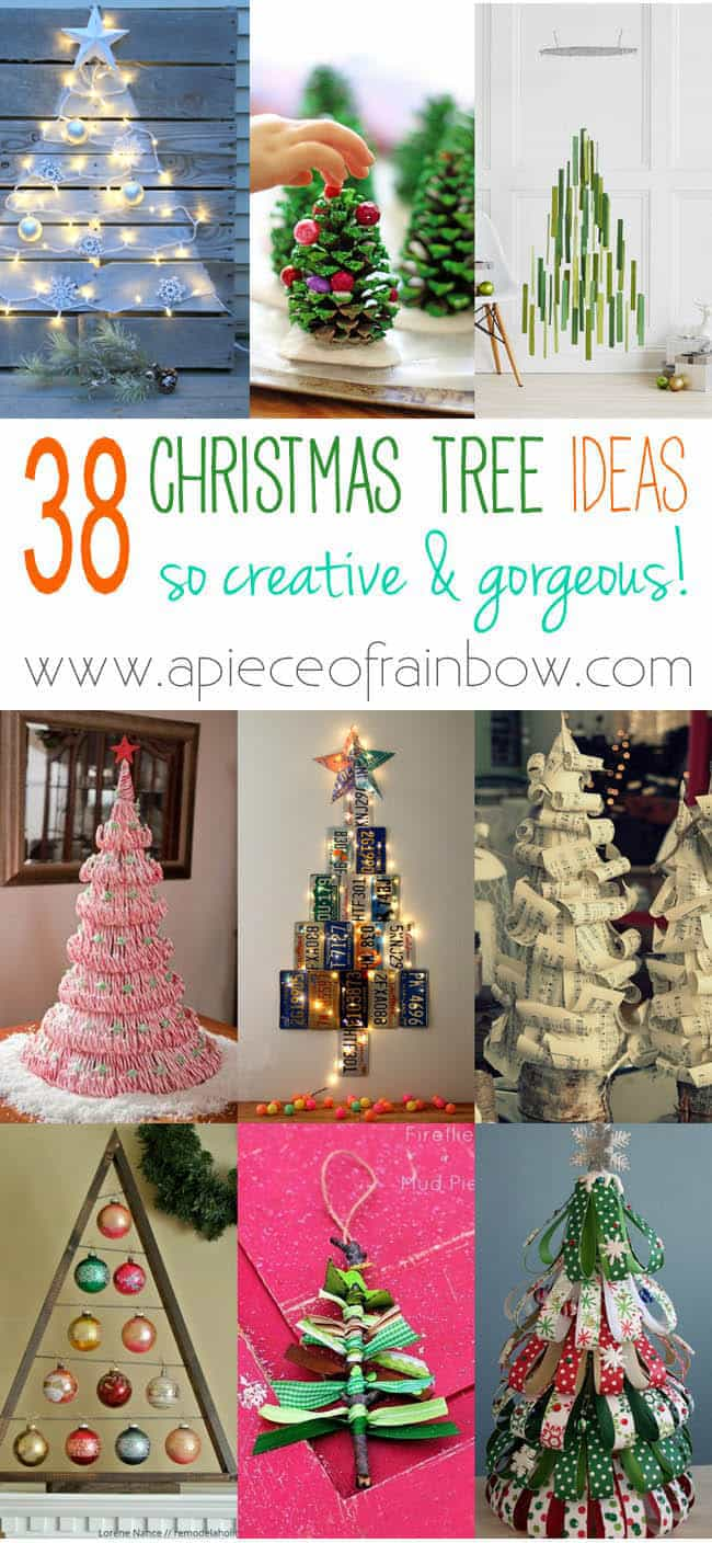 Amazing DIY Alternative Christmas Trees | A Piece Of Rainbow