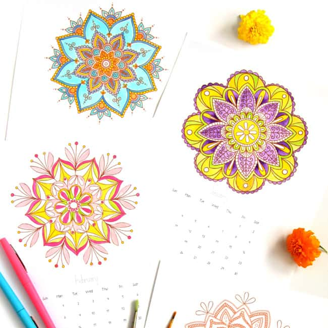 mandala-coloring-pages-apieceofrainbowblog c