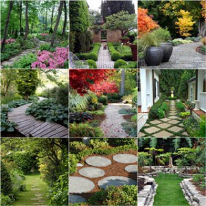 Ultimate collection of 25 most DIY friendly & beautiful garden path ideas and very helpful resources from a professional landscape designer! - A Piece of Rainbow