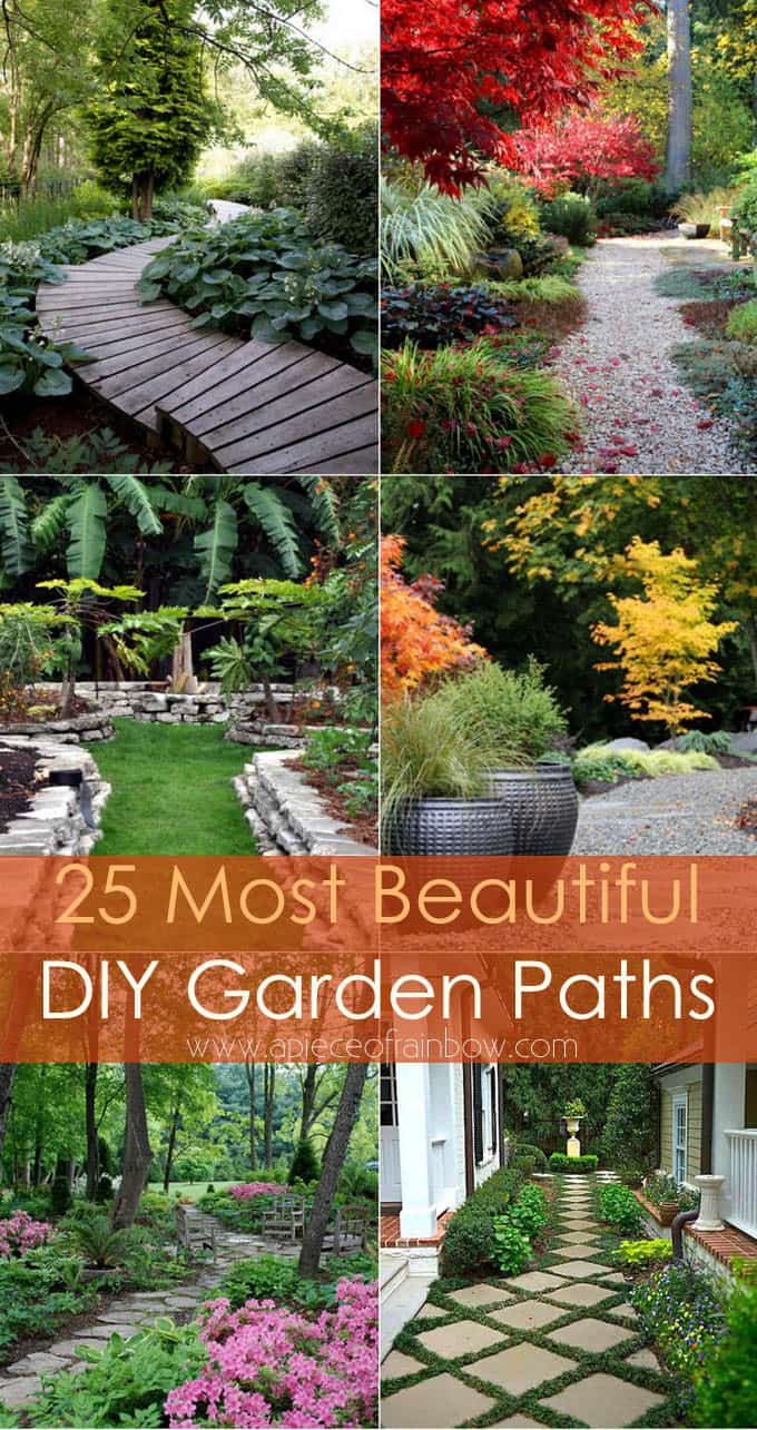 Diy Garden Path Ideas 25 most beautiful diy garden path ideas - a piece of rainbow