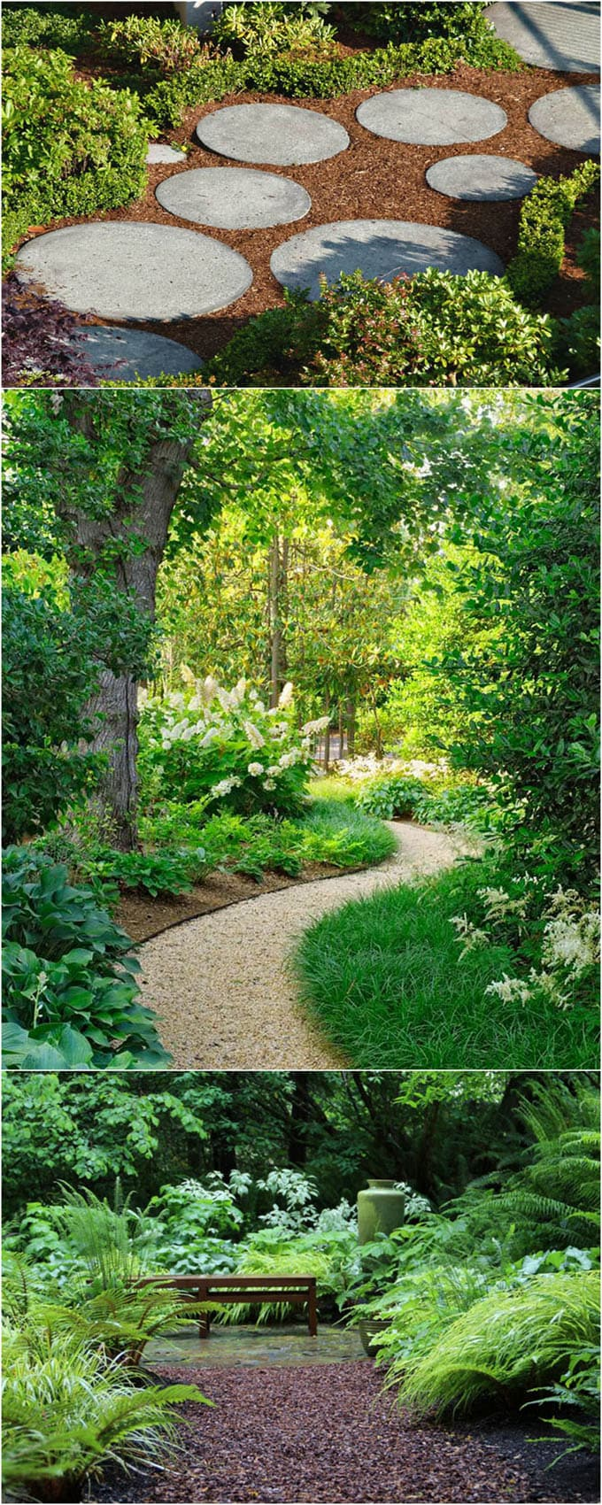 Pros: Wood Chips, Gravel And Stepping Stones ( Perfect For Those Who Loves  To Walk Bare Feet! ) Are Great Beginner Friendly Materials For DIY Garden  Paths.